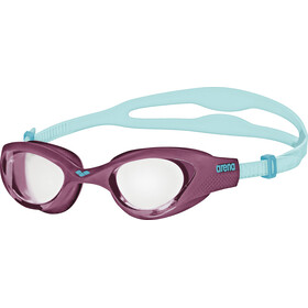 arena The One Goggles clear-purple-turquoise